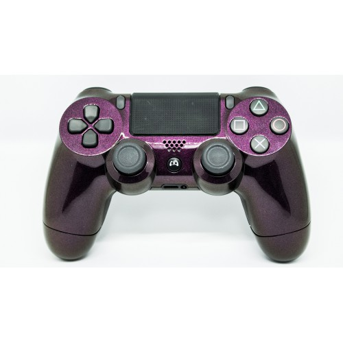 Manette PS4 Strass mauve
