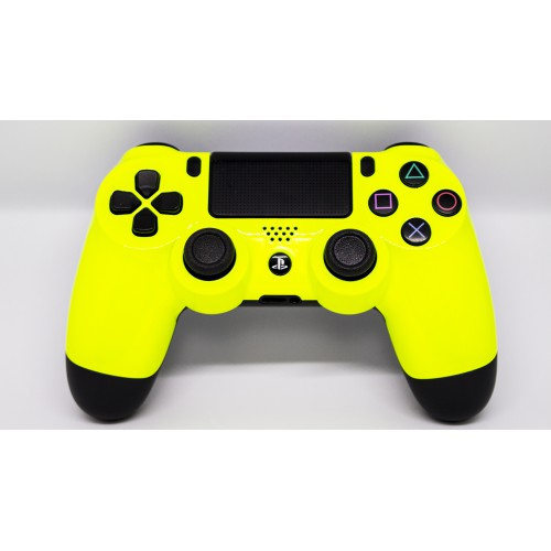 Controller to pallets PS4 Neon yellow