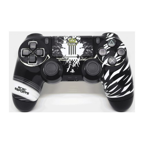 Manette à palettes PS4 officielle Sporting Charleroi