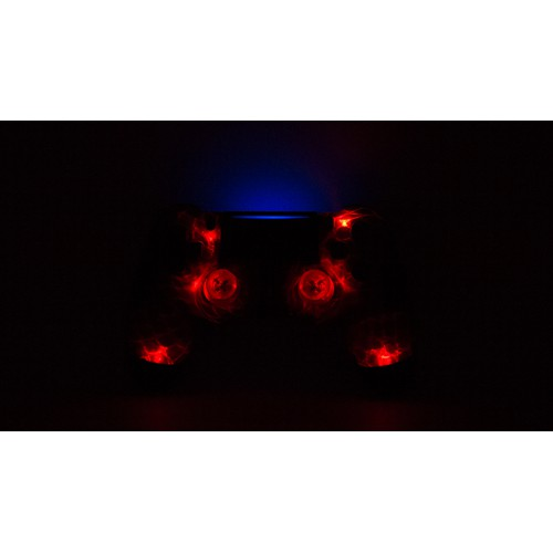 Manette LED rouge